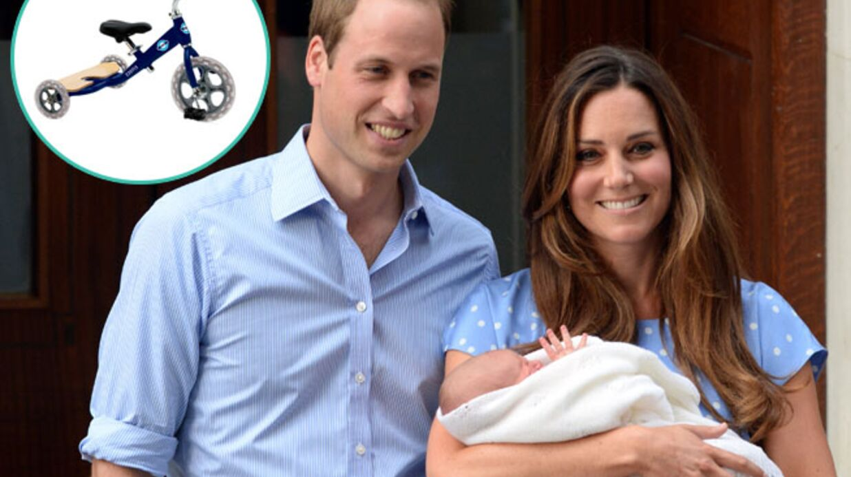Kate et William : leur fils reçoit un « vélib » londonien version tricycle