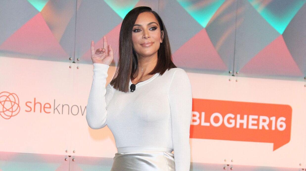 VIDEO Kim Kardashian poste un fou rire de Saint sur Instagram