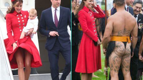 PHOTOS Kate et William: une arrivée très remarquée en Nouvelle-Zélande