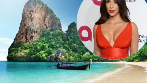 Kim Kardashian: sa photo de vacances? Elle l'a piquée sur un site de fonds d'écran