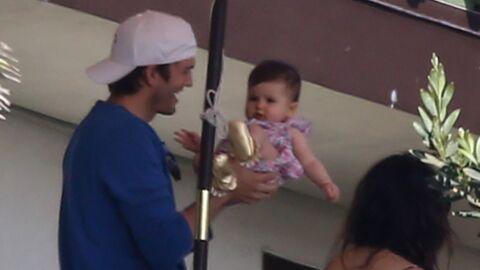 PHOTOS Ashton Kutcher et Mila Kunis: leur fille Wyatt est trop craquante