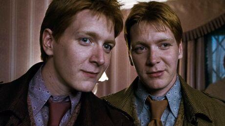 Harry Potter: les jumeaux Fred et George Weasley sont totalement méconnaissables!