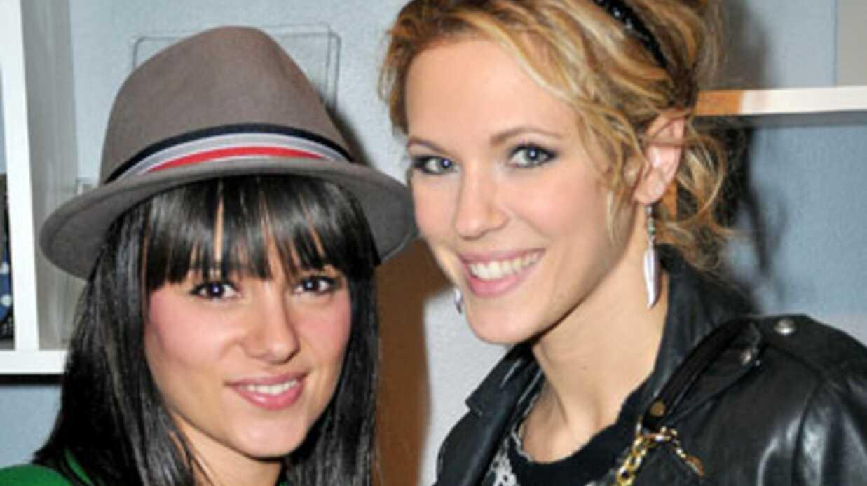 PHOTOS Lorie et Alizée inséparables lors d'une inauguration