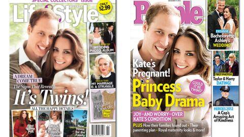En direct des US: Kate Middleton n'est pas la seule à être enceinte…