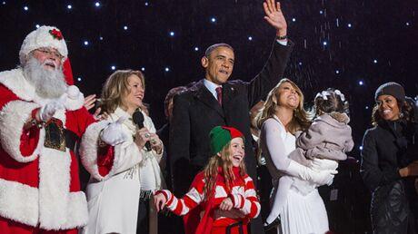 DIAPO Barack Obama et Mariah Carey volent la vedette au Père Noël