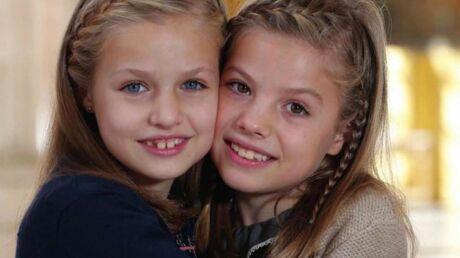 Leonor et Sofía d'Espagne: découvrez l'adorable photo des jeunes princesses espagnoles pour Noël