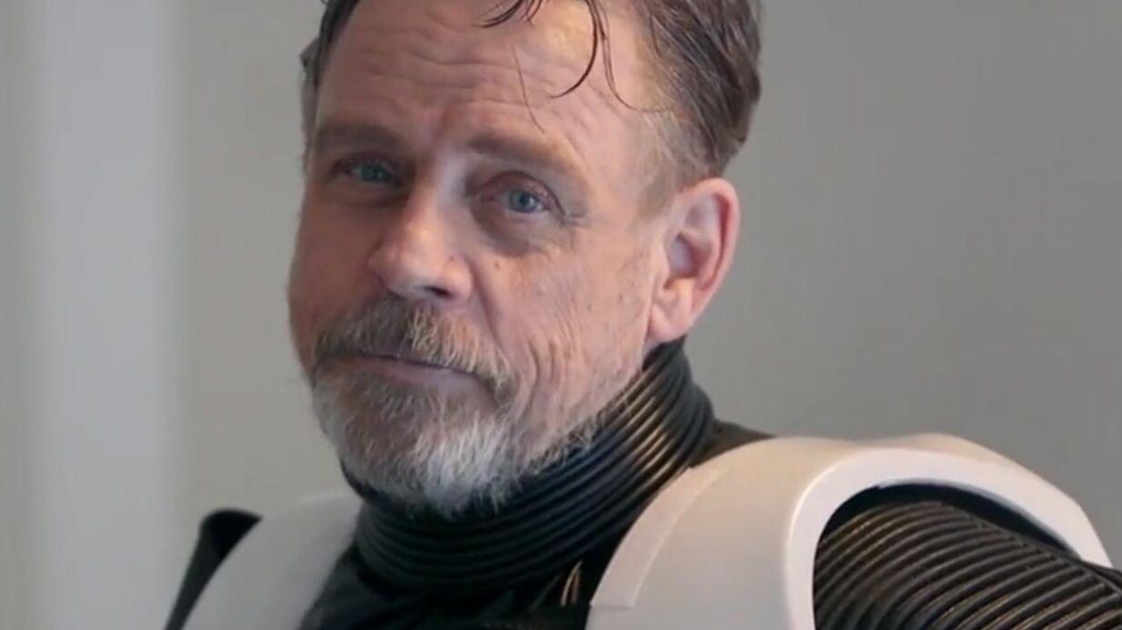 Mark Hamill a dû perdre 22 kilos pour jouer dans le dernier Star Wars