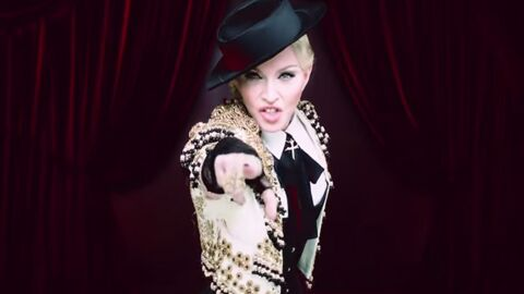 VIDEO Madonna en matador dans son nouveau clip « Living for love »