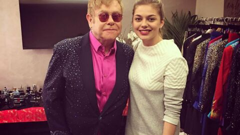 PHOTO Elton John trouve que Louane est «fabuleuse»