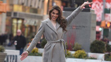 PHOTOS Iris Mittenaere: rendez-vous chez le coiffeur, balade à Times Square, sa nouvelle vie de Miss Univers à New York!