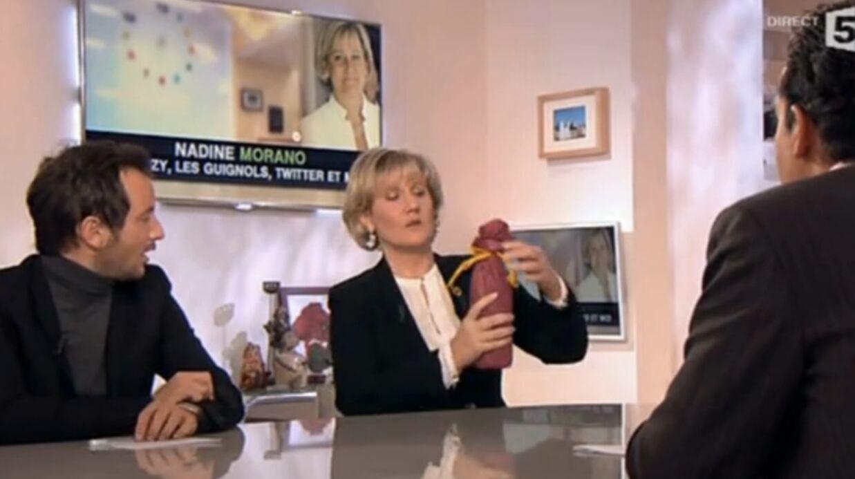 Alessandra Sublet annonce sa grossesse à cause de Nadine Morano