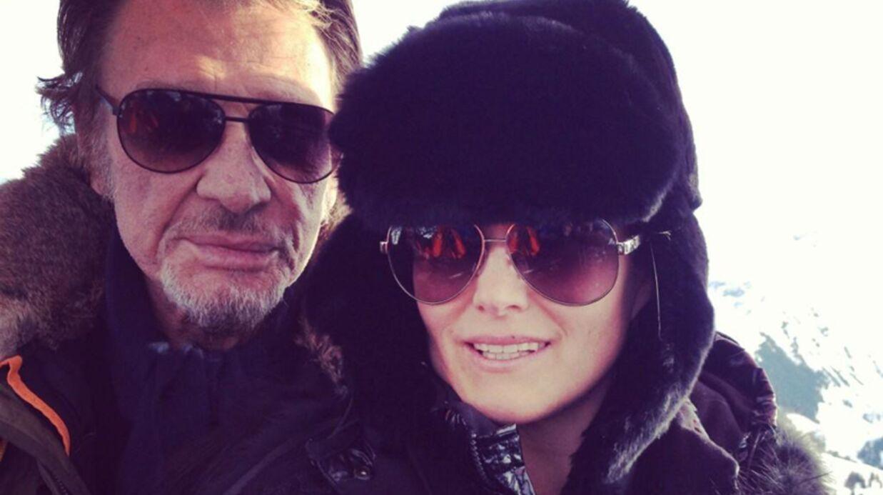 DIAPO Johnny Hallyday en vacances avec Laeticia et ses filles