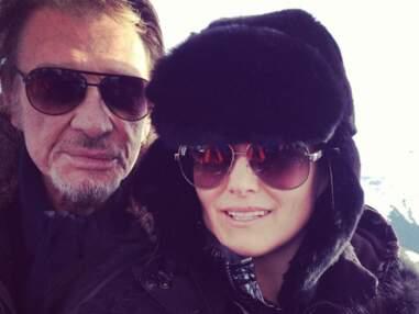 Johnny Hallyday en vacances avec Laeticia et ses filles