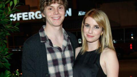 Emma Roberts et Evan Peters: après les coups, les fiançailles