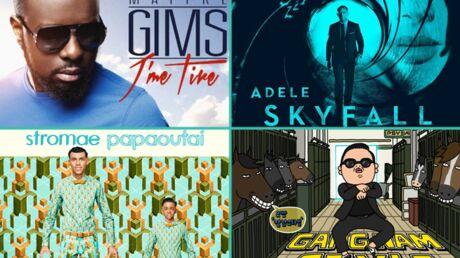 DIAPO Les 20 singles les plus vendus en France en 2013