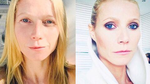 Le très surprenant selfie avant-après maquillage de Gwyneth Paltrow