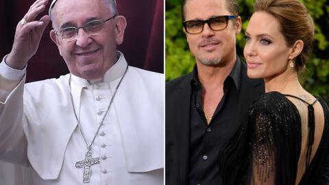 Angelina Jolie et Brad Pitt vont rencontrer le Pape François
