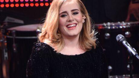 PHOTO Comme nous, Adele souffre à la salle de sport