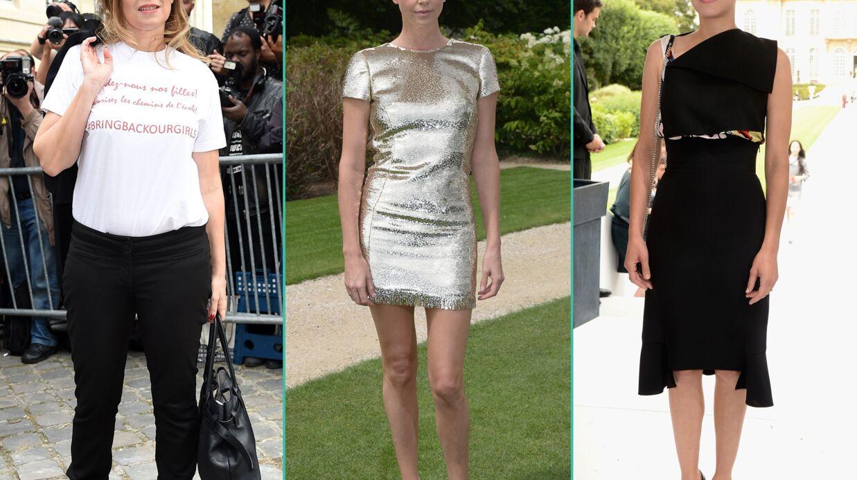 PHOTOS Valérie Trierweiler engagée, Marion Cotillard et Charlize Theron sexy au défilé Dior