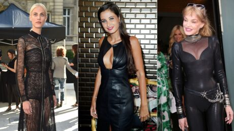 PHOTOS Malika Ménard ultra sexy, Aymeline Valade toute en transparence pour la fashion week