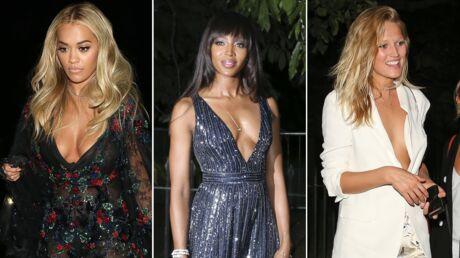 PHOTOS Rita Ora, Toni Garrn, Naomi Campbell: décolletés de folie pour la Serpentine Summer Party