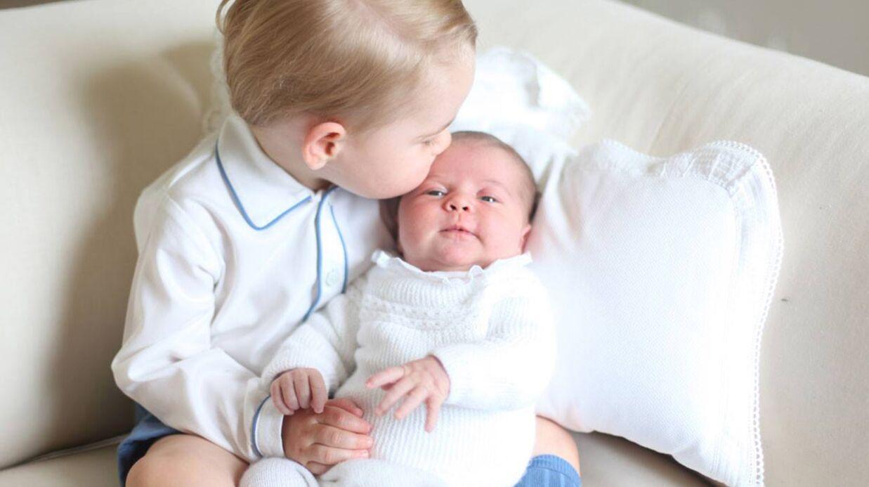 Kate et William: les premières photos officielles trop craquantes de George et Charlotte!