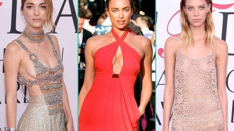 PHOTOS Décolletés, stars topless, robe transparente: c'était chaud aux Fashion Awards