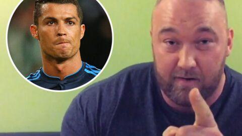 Thor Björnsson (La Montagne dans Game of Thrones) menace Cristiano Ronaldo s'il fait perdre son équipe à l'Euro