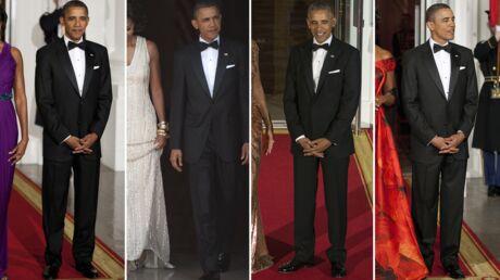 Michelle Obama révèle que son mari Barack a porté le même smoking pendant ses huit ans de présidence