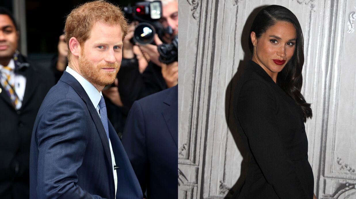 PHOTOS Le prince Harry et Meghan Markle s'affichent enfin ensemble