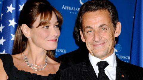 Carla Bruni-Sarkozy soutient Nicolas des coulisses de Des paroles et des actes