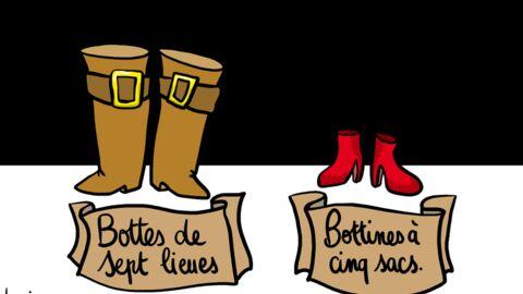 Louison a croqué… les chaussures rouges de Rachida Dati