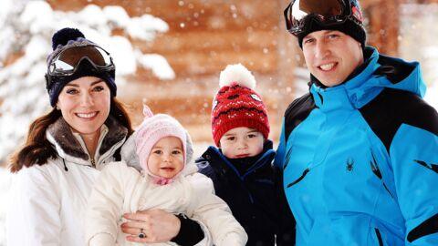 PHOTOS Kate et William: leurs premières vacances au ski avec George et Charlotte