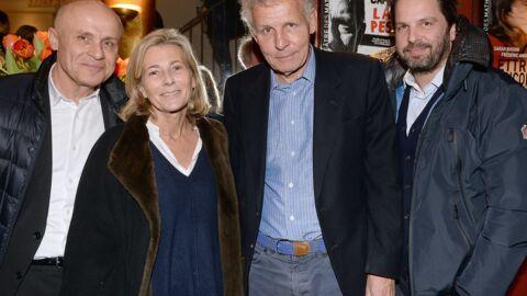 PHOTOS Patrick Poivre d'Arvor et Claire Chazal réunis pour sa première au théâtre