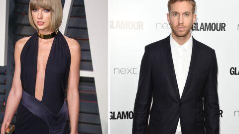 Taylor Swift et Calvin Harris célèbrent leur un an de relation avec le plus moche des gâteaux
