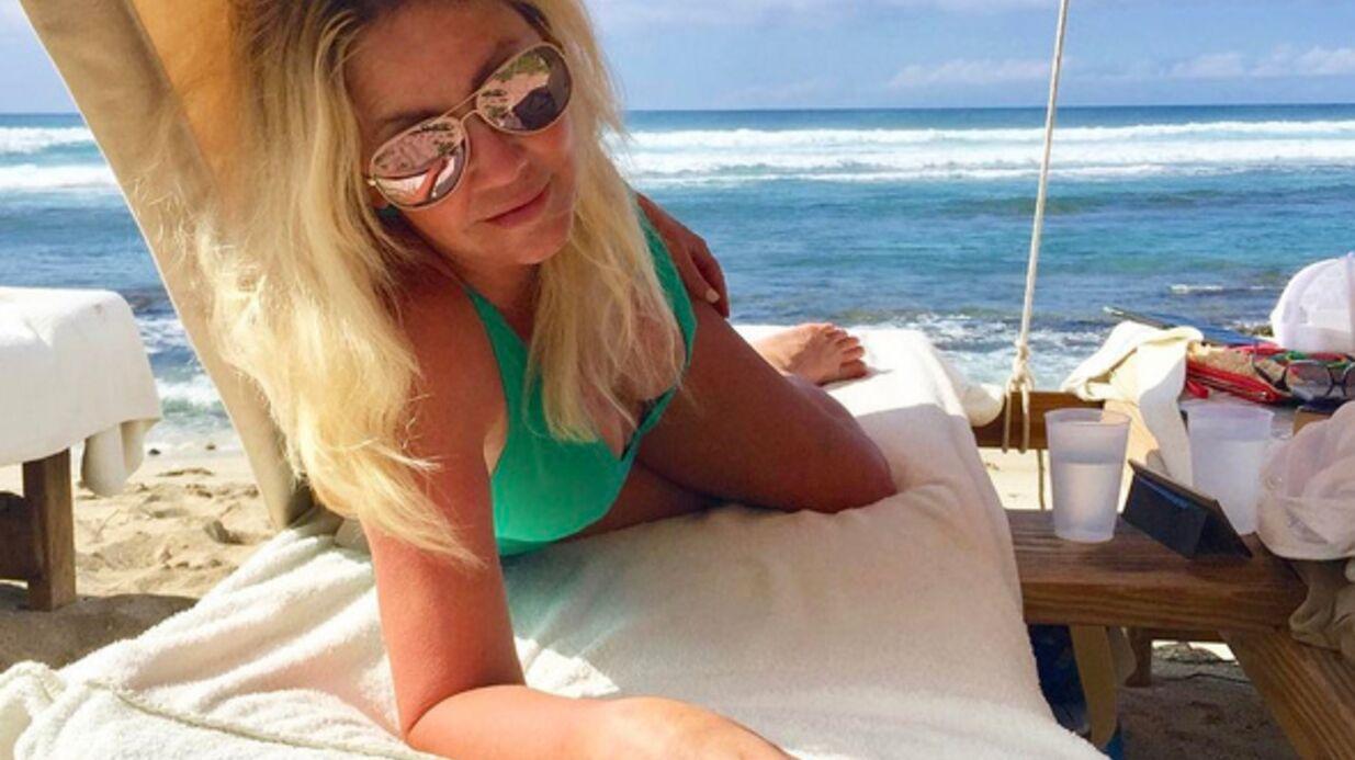 PHOTO Annoncée en rehab, Heather Locklear s'éclate en bikini à Hawaï