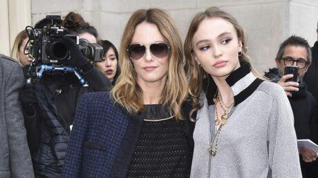 PHOTOS Vanessa Paradis et Lily-Rose Depp: leur belle complicité au défilé Chanel