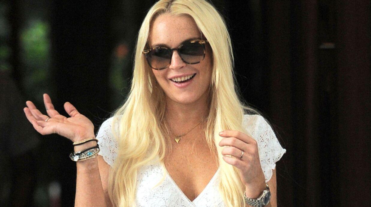 Lindsay Lohan: passage éclair en prison