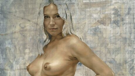 PHOTO Sienna Miller: nue et enceinte, le tableau qui fait peur