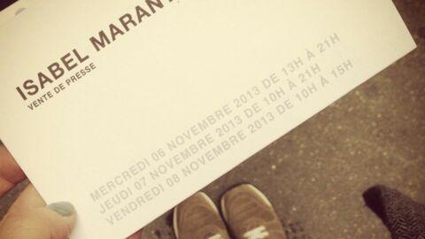 MarieLuvPink, notre blogueuse mode a testé: la vente presse Isabel Marant