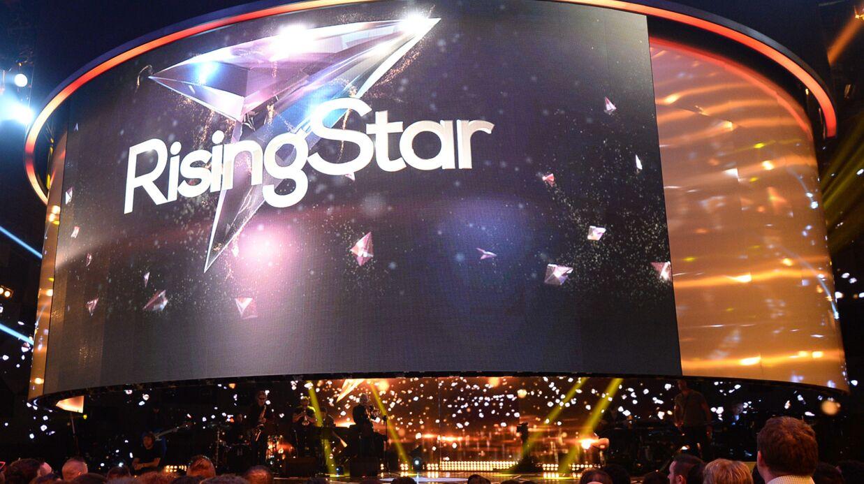 Rising star: la star de l'émission tombe en panne en plein direct