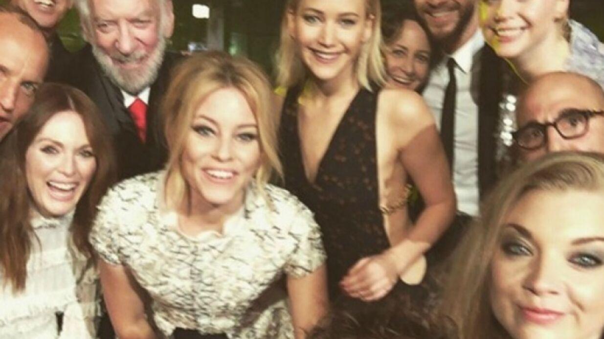 Les acteurs de Hunger Games posent pour un dernier selfie