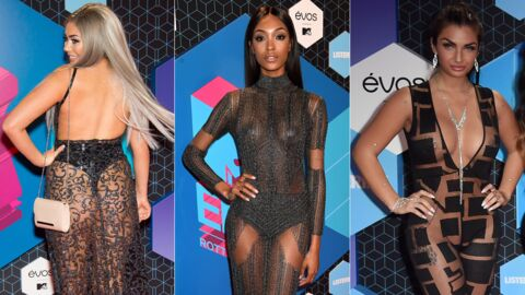 PHOTOS Les looks des MTV EMA : la transparence, du chic au vulgaire