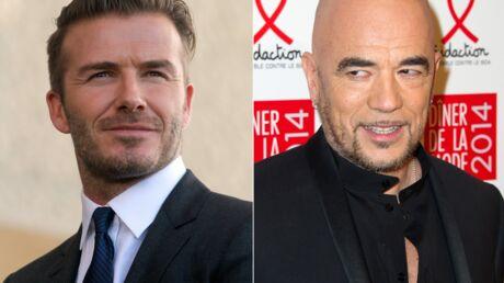 Pascal Obispo en veut toujours à David Beckham d'avoir refusé de participer à un de ses projets