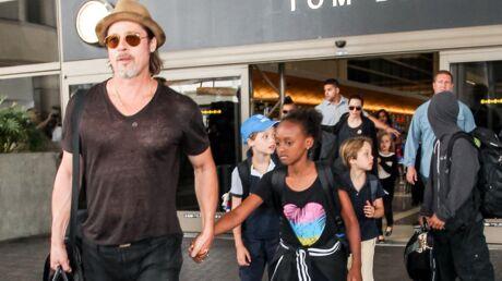 Divorce de Brad Pitt et Angelina Jolie: l'acteur a enfin revu ses enfants