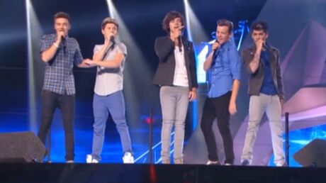VIDEO Les One Direction chantent One Thing aux MTV Video Music Awards