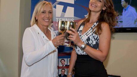 Martina Navratilova a demandé sa petite amie en mariage à l'US Open!