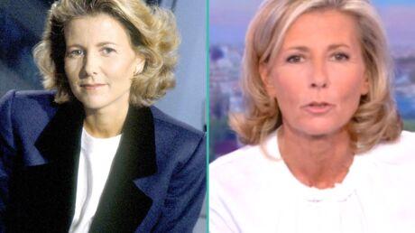 PHOTOS Claire Chazal quitte TF1: l'album souvenir de 24 ans de JT