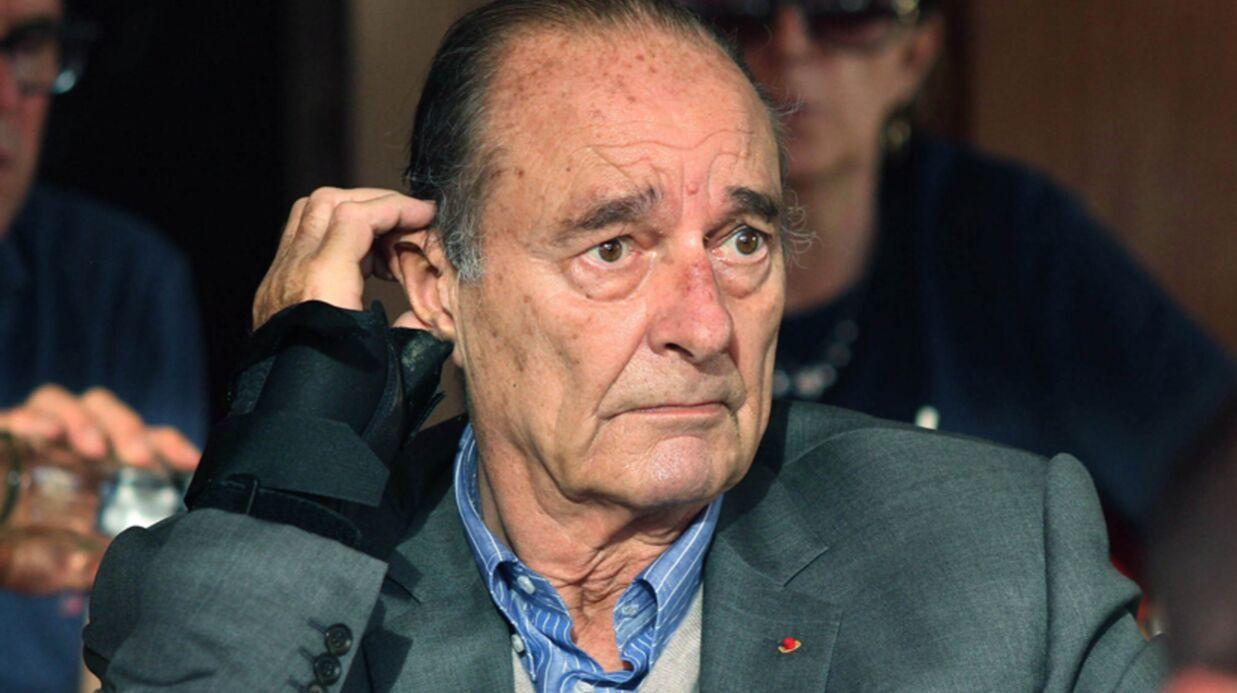 DIAPO Jacques Chirac apparaît fatigué à Saint-Tropez