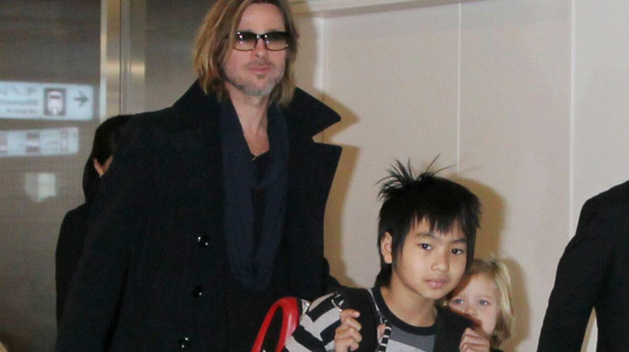 Brad Pitt a offert une moto à son fils de 11 ans
